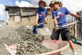 Builders beyond Borders at work. Foto: Alexander Eriksson